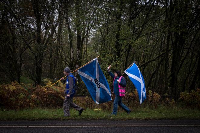 En Ecosse, le second souffle des mouvements populaires indépendantistes