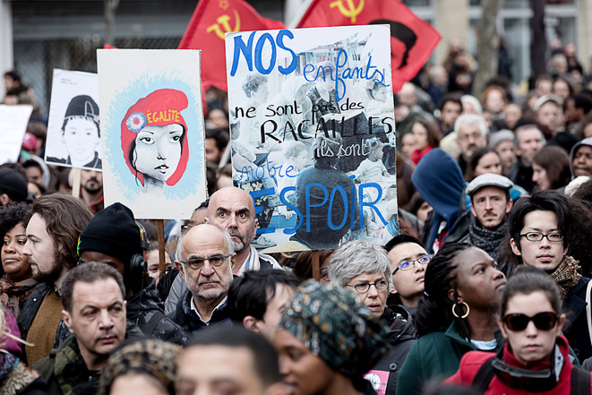 En marche contre les violences policières
