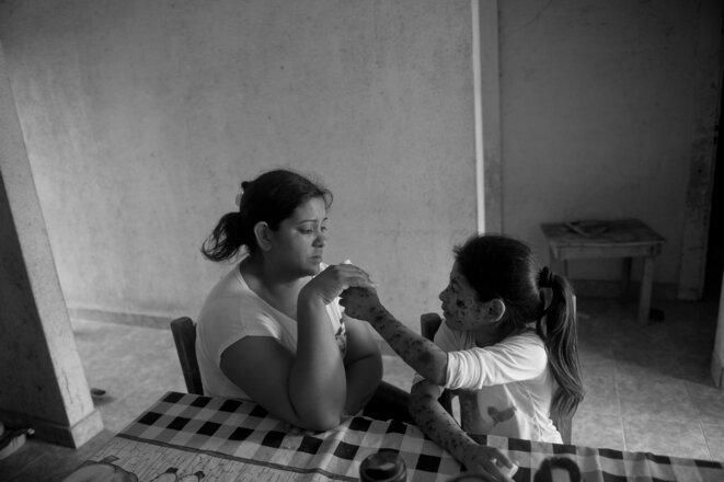 Argentine: soja transgénique voisine avec maladies
