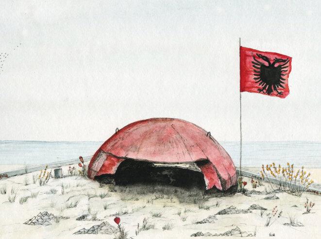 En Albanie, 170000bunkers en héritage