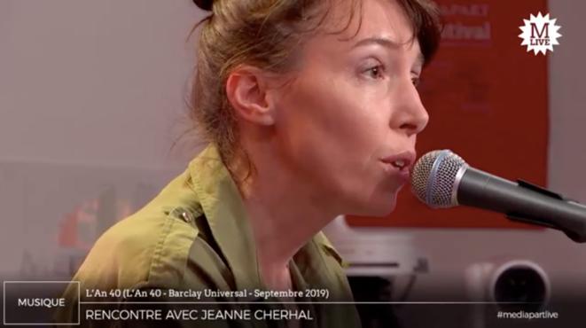 Jeanne Cherhal: des airs de femmes «libres et fortes»