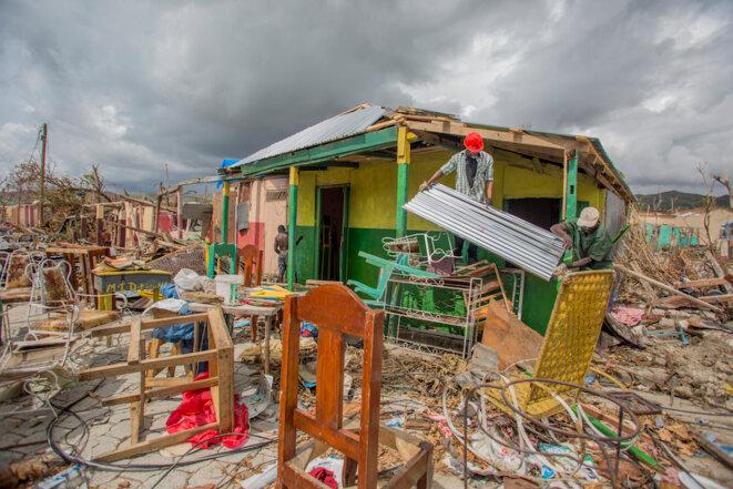 Désolation à Haïti