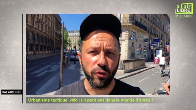 «A l'air libre»: Dussopt, masques, Rome et vélos en ville
