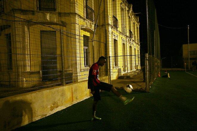 Football tout terrain à Marseille