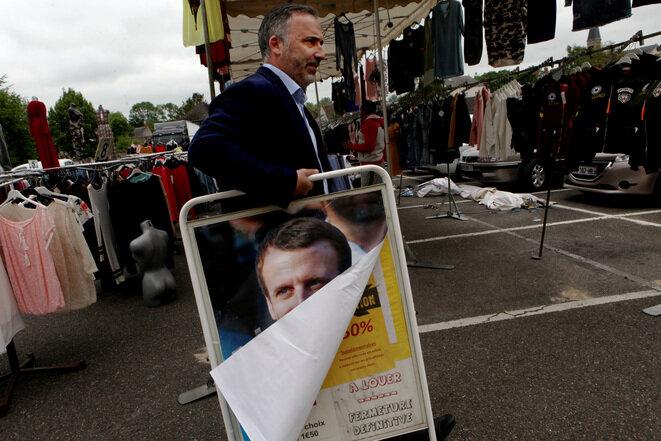 Dans le Loiret, un patron En Marche et en campagne