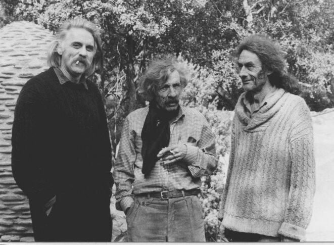 Guy Benoit, Richard Ibanez, Théo Lésoualc'h