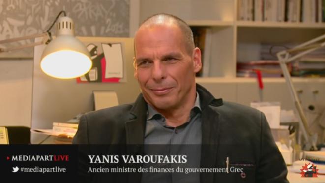 «En direct de Mediapart»: l'Europe de Yanis Varoufakis