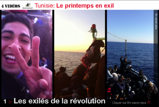 Tunisie, la révolution et l'exil