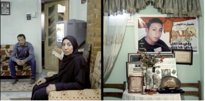 Egypte: les martyrs de la révolution