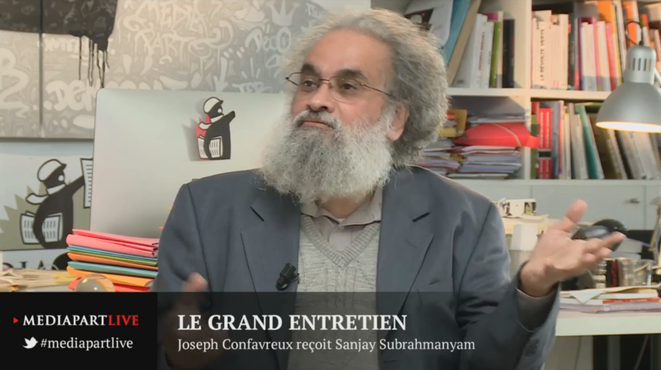 Sanjay Subrahmanyam et l'histoire globale