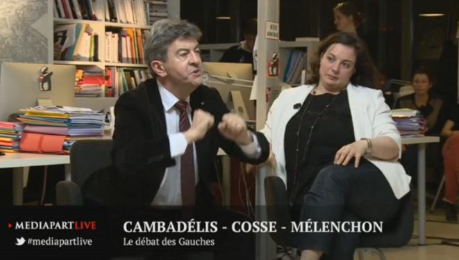 Le débat des gauches: Cambadélis-Cosse-Mélenchon