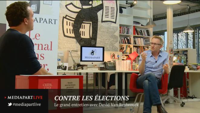David Van Reybrouck: contre les élections, pour la démocratie