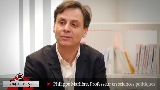 Philippe Marlière, affligé mais combatif