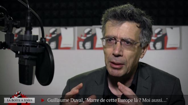 Guillaume Duval: «C'est l'Europe du trop peu et du trop tard»