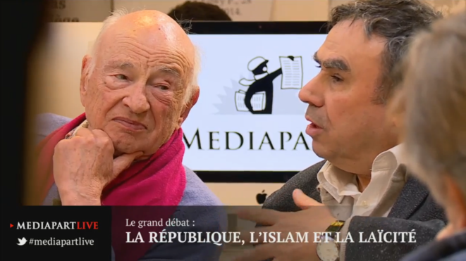 « En direct de Mediapart » : La République, l'islam et la laïcité
