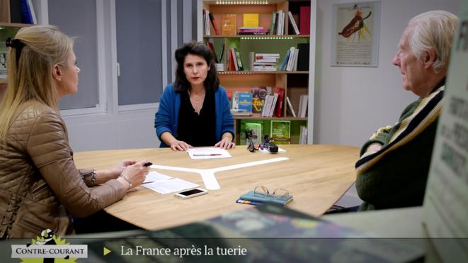 Alain Badiou à «Contre-courant». Après la tuerie