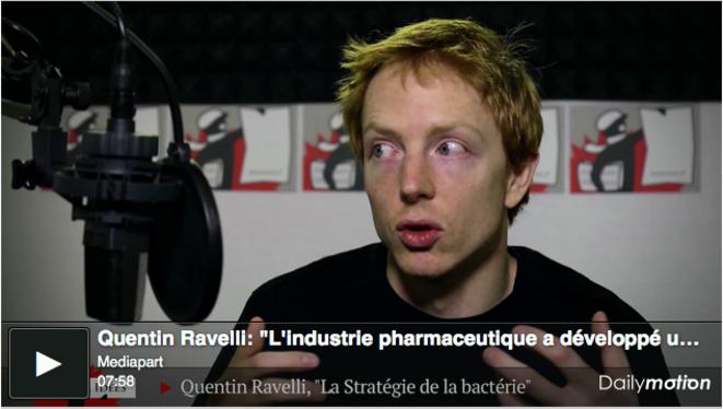 Quentin Ravelli: «Les Labos savent résister»
