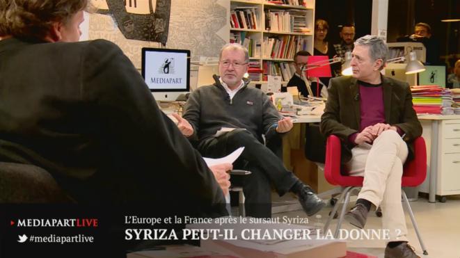 «En direct de Mediapart»: L'Europe et la France après le sursaut Syriza
