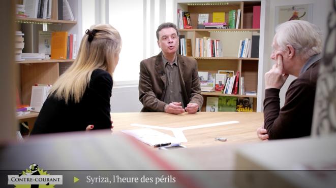 Alain Badiou - Stathis Kouvelakis: Syriza, l'heure des périls