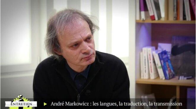 André Markowicz: les langues, la traduction, la transmission