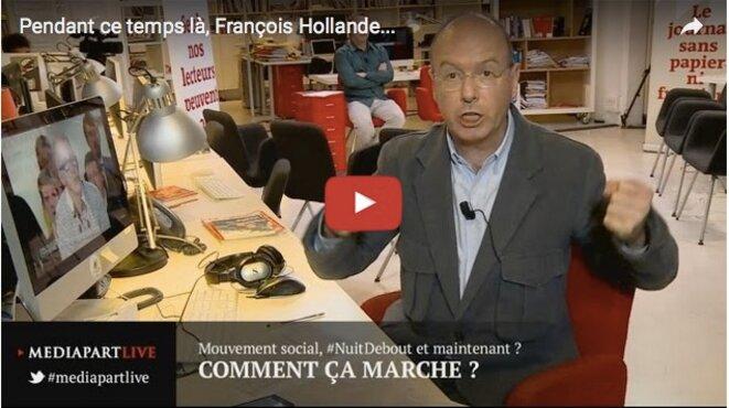 Pendant ce temps-là, François Hollande…