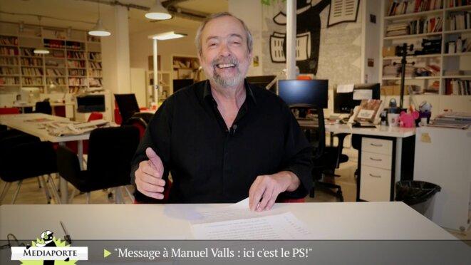 MediaPorte: «Message à Manuel Valls: ici, c'est le PS»
