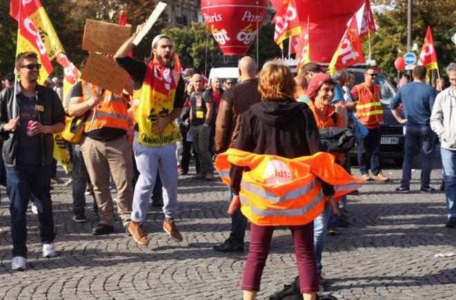 Ordonnances sur le travail: la mobilisation se poursuit mais faiblit à Paris