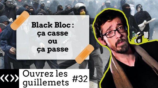 Usul. Black Bloc: ça casse où ça passe
