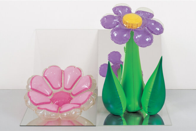 Jeff Koons, Inflatable Flowers, 1979