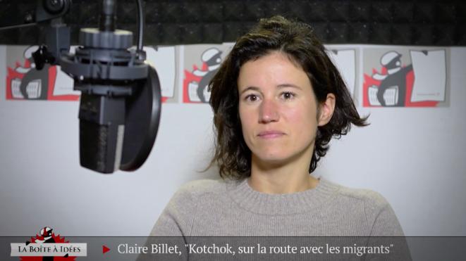 Claire Billet, sur la route avec les Afghans