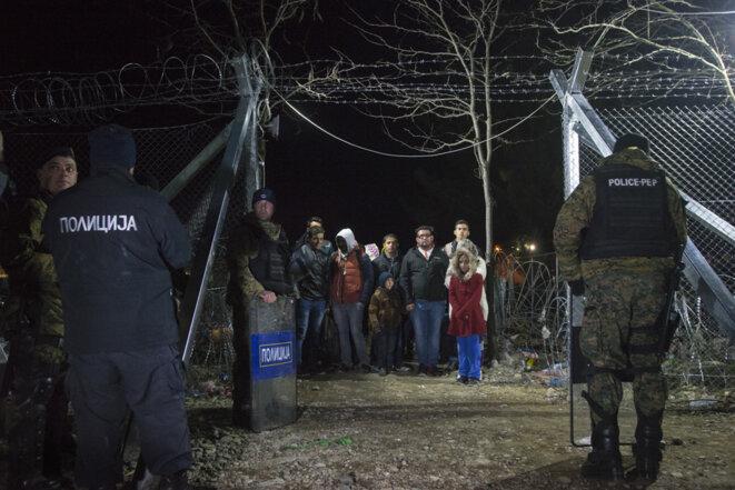Les réfugiés au péril de l'hiver