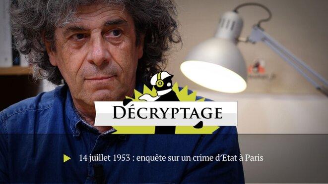 14 juillet 1953: enquête sur un crime d'Etat à Paris