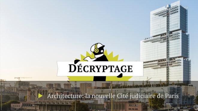 Architecture: le nouveau palais de justice de Paris manque sa cible