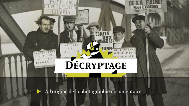 Aux origines de la photo documentaire française
