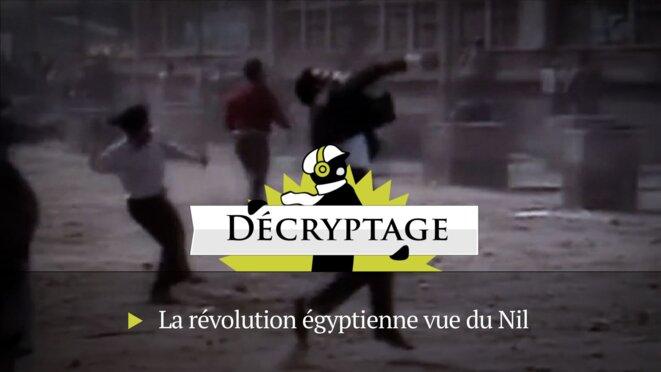 La révolution égyptienne: images et décalage