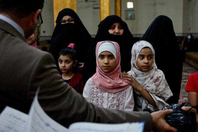 En Irak, «le bonheur, c'est d'être vivant, juste vivant»