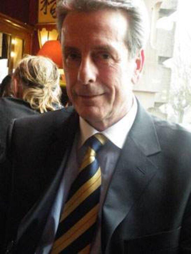 Jacques Cordonnier, tête de liste d'Alsace d'abord, préside le mouvement régionaliste depuis 2008 © Maryline Dumas
