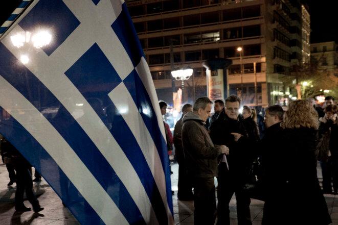 La rue d'Athènes veut être entendue à Bruxelles