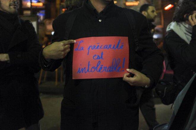 A Paris, intermittents et précaires mis sur le Carreau
