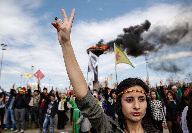 A Diyarbakir, dans les quartiers kurdes encerclés