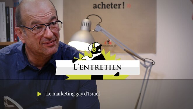 Jean Stern décrypte le marketing gay d'Israël