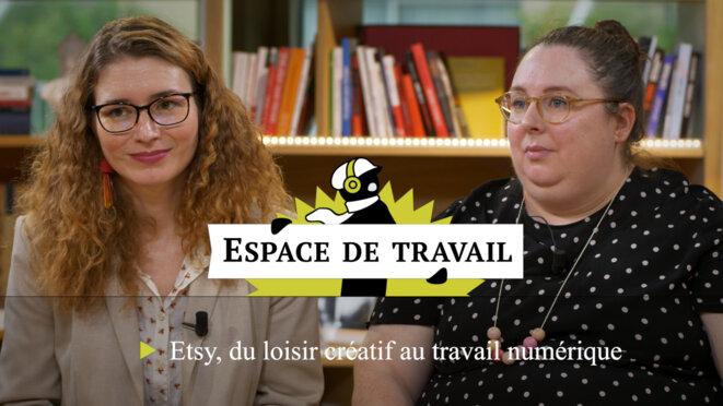 Etsy, du loisir créatif au travail numérique