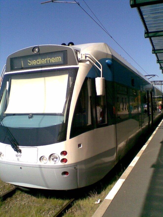 Tram de Sarrebruck septembre 2010
