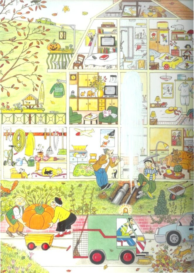 Wimmelbuch Automne page 1