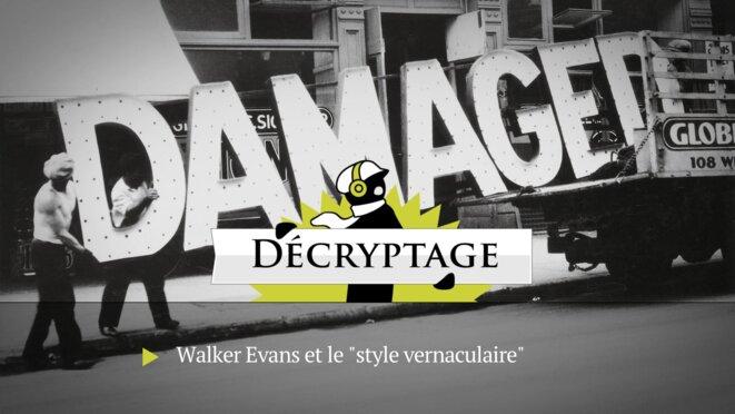 Walker Evans: une image populaire des Etats-Unis