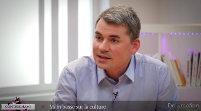 Contrechamp : «Main basse sur la culture»