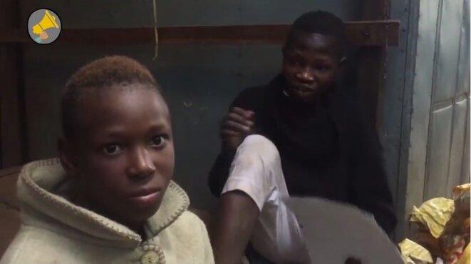 Guinée: les enfants SDF de Labé