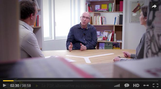 Michel Bauwens: «Vers une économie post-capitaliste»