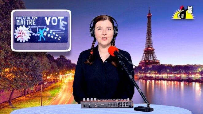 Le JT de la Parisienne Libérée. «Elections, piège à papillons!»