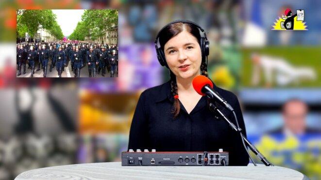 Le JT de la Parisienne Libérée. «Splendeurs et misères de l'État policier»